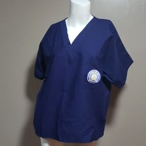 Univ Pittsburgh school of nursing scrub tops  M